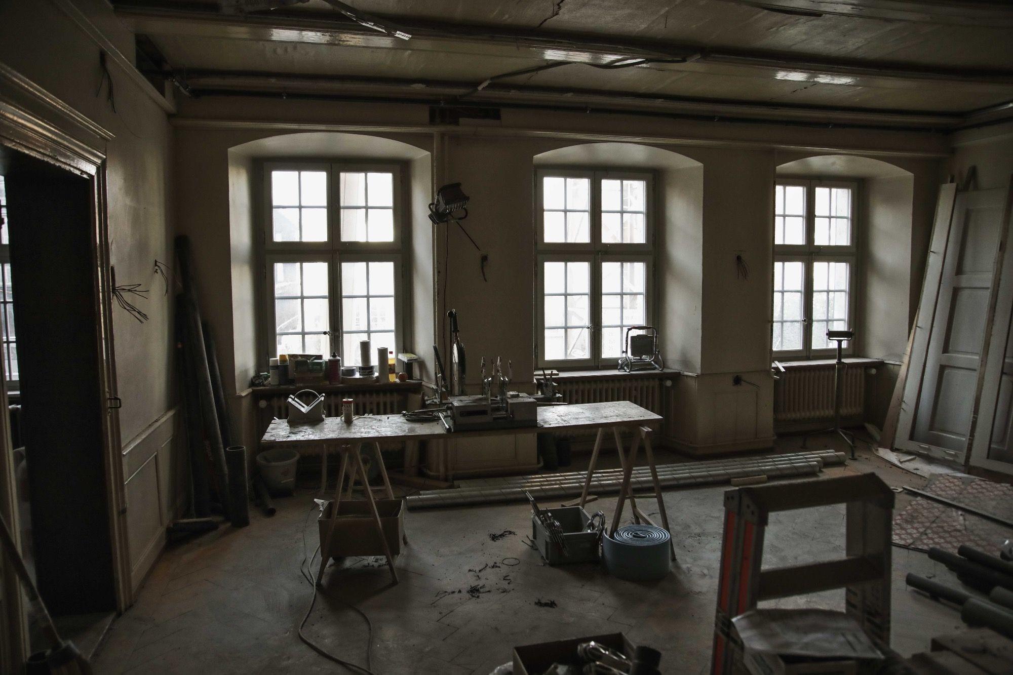 Das Lesezimmer als Werkstatt